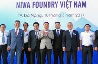 Openning Ceremony of Niwa Foundry Factory Project