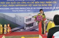 Ground breaking Ceremony of Plant for Production, Processing and Food Production of NH Foods Vietnam Jsc. at Hung Yen