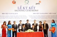 JCM officialy signed aComprehensive Cooperation Agreement with BID Vietnam