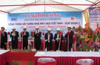 Ground Breaking Ceremony of A&D Vietnam Factory – Phase 1 Project