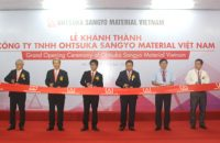 Opening Ceremony of Ohtsuka Sangyo Material Factory in Hanam