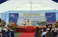 Lễ khởi công Xây dựng Toà nhà Số 5 thuộc Dự án Trường THCS & THPT Quốc tế Nhật Bản