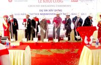 Ground Breaking Ceremony of Advance Nonwoven Vietnam Factory Phase 1 Project
