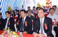 Ground breaking ceremony of Japanese Rental Apartment – Phase 1 Project (Famille Hanam)