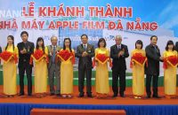 Opening Ceremony of Apple Film Danang Factory – Phase 1 Project