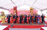 Ground breaking ceremony of Santomas Bac Ninh Project of Santomas Vietnam Jsc.